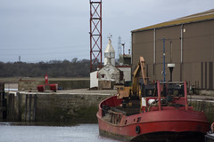 "Glasson Dock (farowright70) Tags: ocean light sea england lighthouse tower english water canon ian faro coast waves harbour lancashire guide farol fin beacon phare hazard fyr leuchtturm sentinel faros ianwright fyret 등대 灯台 glasson fyrtårn маяк majakka goleudy 灯塔 glassondock منارة finwright finwrightphotographycouk vuurtor ""mercu suar"" દીવાદાંડી ""deniz feneri"""