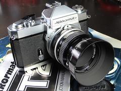 Nikkormat FT2 after cleaning (orzalana69) Tags: nikkormat ft2 35mm slr circa 1975 made japan