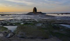 Sunset At Von Tromp (Preston Ashton) Tags: ocean uk sunset sea england beach water rock evening tromp von vontromp prestonashton