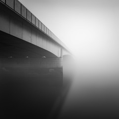 dont fade away (vulture labs) Tags: longexposure bw london fog square photography crop minimalist vulturelabs