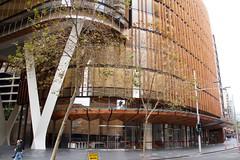 New building in Sydney (Val in Sydney) Tags: sydney australia australie nsw cbd building