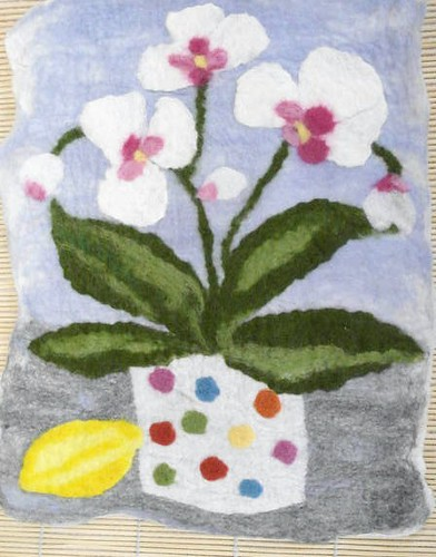 Flower Picture Using Prefelts