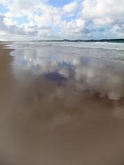 The beach from our White Rocks Coastal Walk in Northern Ireland, UK (albatz) Tags: whiterocks coastalwalk northernireland uk beach sandybeach reflection