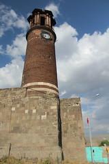 clock tower (laedri52) Tags: erzurum turkey trkiye turkiye saatkulesi clocktower tower kule saat castle kale
