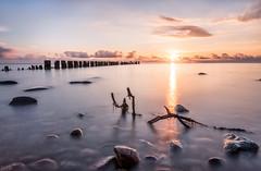 Very early, but beautiful! (m.cjo Fotografie - Martin Rakelmann) Tags: longexposure sea sunrise long exposure baltic le rgen sonnenaufgang ostsee langzeitbelichtung glowe lzb bunen mcjo