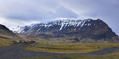 Spring awakening in Iceland (lunaryuna) Tags: sky panorama mountain weather clouds season landscape iceland spring farms lunaryuna southiceland gravelroads rurallandscape weathermood seasonalwonders