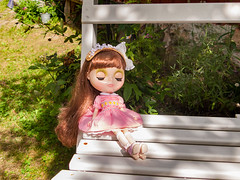 Flower Bouquet (Helena / Funny Bunny) Tags: flowerbouquet babysbreath rbl cherrymerrymuffin sakiyamashita torpet funnybunny blythe