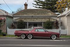Seddon (Westographer) Tags: house suburbia australia melbourne modified parked streetscape holden monaro westernsuburbs seddon whitewalltyres monaroute