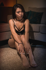 Mei //HOTEL (Winston Gee) Tags: asian girl babe model modeling auckland nz wgp nikon low light vape muse pretty chill relax
