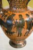 IMG_9949 (jaglazier) Tags: 2016 520bc 6thcenturybc 72316 achilles adults amphora animals antimenes antimenespainter ariadne athens attic bearded beards boys campania centaurs ceramics children chiron clay copyright2016jamesaglazier crafts crowns dionysos drawing grecoroman greece greek greekkey hermes horns italy july legends lotusflowers mammals men museoarcheologiconazionale museoarcheologiconazionaledinapoli mythical myths naples napoli national nationalarchaeologicalmuseum nazionale painting peleus pottery religion rituals satyrs vases women archaeology art blackfigure dogs drinkinghorns earthenware gods hares lotusbuds meandd meander palmettes wolfstooth wreaths