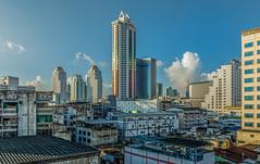 Baiyoke Tower I (aurlien.leroch) Tags: asie asia bangkok thailand thalande skyline skyscrapers baiyoketoweri nikon d7100 cityscape