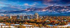 4kRENO IN FALL AND WINTER (neillockhartphotography) Tags: city winter fall composite cityscape nevada reno scape