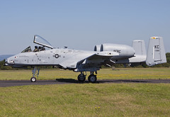 A-10c 79-090/KC 303rdFS/442ndFW based at Whiteman AFB, Missouri. is seen taxiing back to park, after landing on RWY14. 19/04/16 (waynebutton661) Tags: 190716 tankbuster a10 raf usaf 442ndfw leeming hawgs 303rdfs warthog thunderbolt