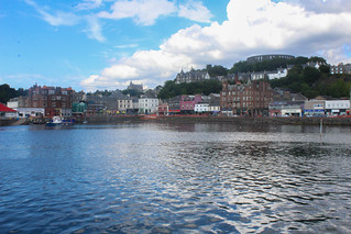 Looking onto Oban