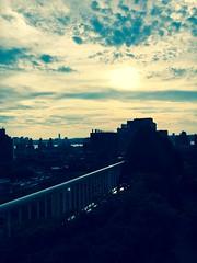 Clouds - NYC (verplanck) Tags: dusk hudsonriver newjersey summer greenwichvillage clouds twilight nyc