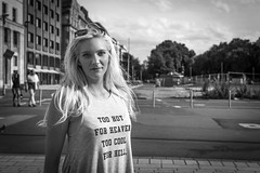 """#35 """"What the hell are you doing on this planet?"""" (Hendrik Lohmann) Tags: street streetphotography strassenfotografie streetportrait strase strasenportait people portrait menschen gesichter"""