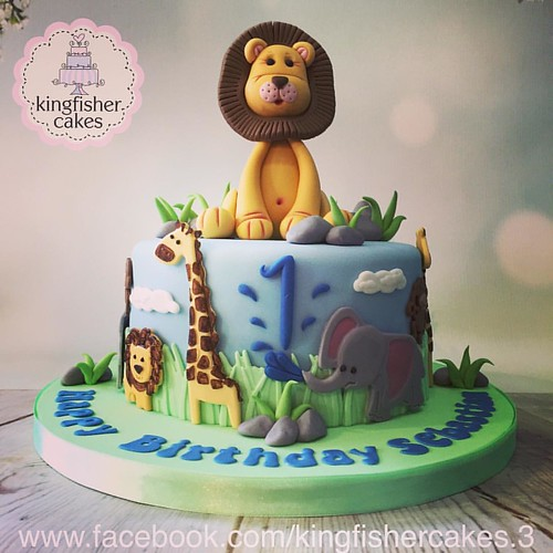 Next Cake For Last Weekend Was This Little Boys First Birthday Cake