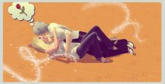 dante_and_trish_by_dantedevilknight-d7ms13j (Dante x Trish) Tags: devilmaycry relationship pairing      people manga japan anime dmc dante trish devil may cry game dmc4 love hug  capcom videogame fantasy video games gaming gloria