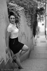 IMG_2016_06_29_1769_BW (piotr_szymanek) Tags: ewa outdoor session starówka oldtown portrait woman girl blackandwhite legs young skinny fashion mini 1k ewab