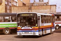 STAGECOACH WESTERN SCOTTISH 506 M869ASW (bobbyblack51) Tags: stagecoach western scottish 506 m869asw volvo b10m55 alexander ps ayr bus station 1995 all types of transport
