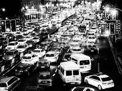 CityCrowd.jpg (Klaus Ressmann) Tags: klaus ressmann omd em1 abstract night prc peoplesquare shanghai summer blackandwhite cityscape contrast crowd design flccity pattern traffic klausressmann omdem1