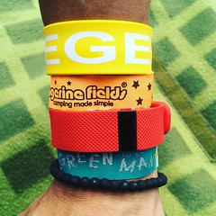 18/08/16 (ordinarynomore) Tags: fitbit wristbands greenmanfestival greenman