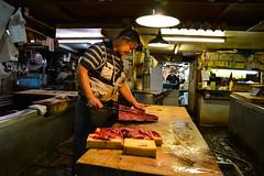 tsukiji-3 (winnieyklai) Tags: tsukiji fish fishmarket market tokyo japan seafood tuna sushi