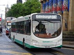 East Coast Buses 10198 (SN62BUF) - 20-08-16 (peter_b2008) Tags: eastcoastbuses lothiancountrybuses volvo b7rle wright eclipseurban2 10198 198 sn62buf 107 buses coaches transport buspictures