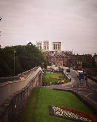 On the walls of York with York Minster in the distance #York #Uk #travel #architecture #travel #history (dewelch) Tags: ifttt instagram on walls york with minster distance uk travel architecture history