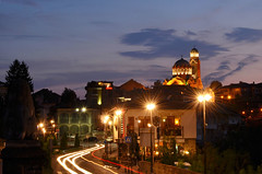 Kolyu Ficheto's Cathedral of the Birth of the Theotokos, Veliko Tarnovo (Morkovica) Tags: velikotarnovo bulgaria evening longexposure nikon d5100 catherdral