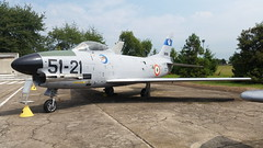 F-86K Sabre MM53-8316/ 38316/ 51-21. Ex Italian-AF/ ITAF/ Aeronautica Militare. 51Stormo badge. Preserved, Cameri Air-Base, Italy. 27-07-2016. (Aircraft throughout the years) Tags: north american northamerican fiat f86k f86 sabre italianaf itaf aeronautica militare aeronauticamilitare cameri airbase italy preserved ami