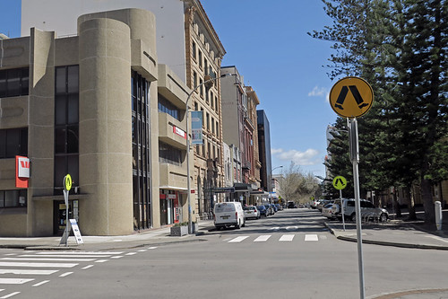 Hunter Street Walk - Corner of Hunter and Watt Streets