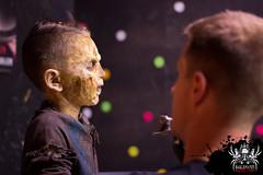 Keep those eyes shut (SlayervilleProd) Tags: zombie makeup halloween baldwinasylum slayerville slayervilleproductions undead hauntedhouse baldwinasylum2016videoshoot