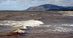 High tide at Earnse Bay (billnbenj) Tags: barrow cumbria earnsebay hightide blackcombe waves surf spray