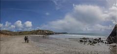 Sea Acres Beach (Muzammil (Moz)) Tags: beach cornwall lizard fisheyelens newquey afraaz muzammilhussain mozhaps canon815mm canon5dmark3 mozhapsyahoocouk parkdeancaravanpark