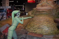 SWC 2O15 - 0407 (Photography by J Krolak) Tags: california starwars costume cosplay jabba anaheim oola twilek