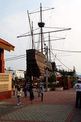 Flor de la Mar, replica of  Portuguese ship (tiger289 (The d'Arcy dog supporters club)) Tags: park flowers trees plants cats fish cars chicken dogs beer buses animals ferry museum boats singapore dubai village fishermen dragonflies ships navy bridges churches crab insects georgetown malaysia koi artillery noodles carp penang monuments kampong radar melaka mosques forts malacca maritimemuseum penanghill canons plaques limos bentong karak johore melakariver goldencarp navyships spicetrade malaccariver historicships floradelamar minesweeping oldgeorgetown fastpatrolboat embrasures muziumsamudera maritimemuseumofmalacca portuguesegalleon