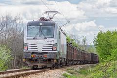 Pusher loco (BackOnTrack Studios) Tags: train siemens rail loco db bulgaria freight tests dbs 193 helper pusher schenker 822 homologation vectron