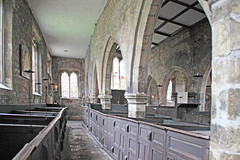 The Side Aisle of Holy trinity (The Frantic Photographer) Tags: candle yorkshire medieval aisle pulpit parishchurch