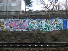Pispala graffiti (Thomas_Chrome) Tags: street streetart art suomi finland graffiti europe gallery fame nordic tampere pispala