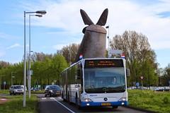 GVB Mercedes Citaro bus 328, Lijn 69, Anderlechtlaan (Don Maskerade) Tags: bus amsterdam mercedes 328 gvb rotonde sloten citaro anderlechtlaan lijn69 vlindermolen