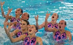 O5098808 (roel.ubels) Tags: swimming european ek championships hoofddorp synchronised ec synchro synchronized syncronized zwemmen 2015 sincro synchroon synchroonzwemmen leneuropeansynchronisedswimmingchampionscuphaarlemmermeer2015 europeanchampionscup2015
