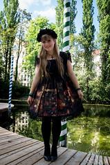 People and Outfits @ WGT 2015 (AyraLeona) Tags: festival gothic goth leipzig lolita steampunk wgt 2015 wavegotiktreffen lolitafashion