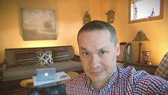 Evening Selfie (Kenneth Wesley Earley) Tags: spokane livingroom spokanewa selfie 99201 99205 htcone htconem8