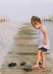 beach (KathleenCollinsPhotography) Tags: ocean life wood pink sunset shadow sea summer vacation portrait sun holiday cute texture beach water girl beautiful lines childhood youth canon painting season real fun outside outdoors 50mm golden evening coast seaside sand toddler shoes warm doll soft play path sandals candid dunes grain adorable warmth july curls atlantic east adventure jeans photograph pile shore hour flipflops tanktop reality boardwalk environment kicks shorts ponytail delicate celebrate depth outtake timeless goldenhour eastcoast dimensional environmentalportrait markiii