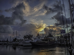 Early Morning at the Docks...... (D Cunningham) Tags: pointandshoot earlyingrise docks marathon keys florida prettyview dcunningham