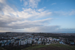 22012016_from Holyrood Park (Chicaco11) Tags: chicaco11 travelinuk travel 2016 winter january scotland edinburgh uk sigma 1020mm nikon d750 landscape sky cloud