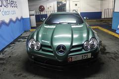 UAE (Abu Dhabi) - Mercedes-Benz SLR McLaren Brabus (PrincepsLS) Tags: uae abu dhabi plates london uk spotting mercedes benz slr mclaren brabus