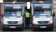 Metropolitan Police (Charing Cross) (ferryjammy) Tags: london police charingcross metropolitan bx08llt bx08llw