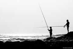 fisherman (jazzfoto.at) Tags: sony sonyalpha sonyalpha77 alpha77 sw schwarzweiss blackandwhite blackwhite noirblanc bianconero biancoenero blancoynegro gegenlicht backlight outdoor meer fischer fisherman
